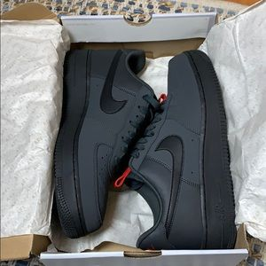 Nike Air Force 1 '07 Anthracite/Black Size 10